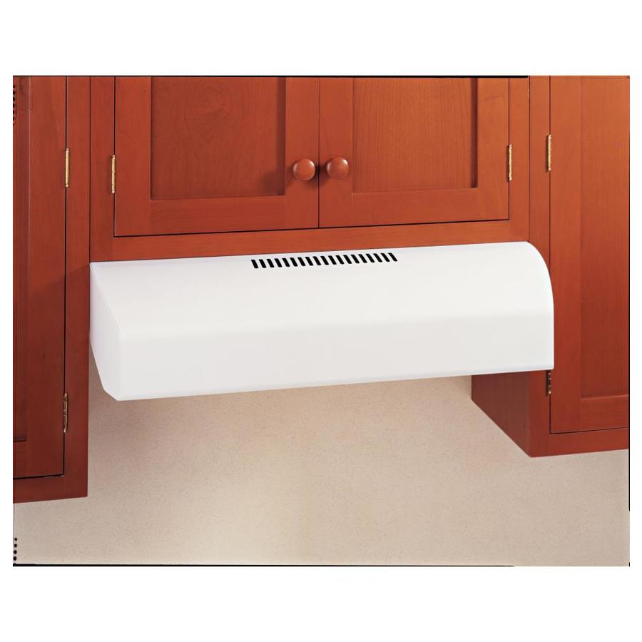 GE Profile Undercabinet Range Hood (White) (Common: 30-in; Actual: 29.875-in)