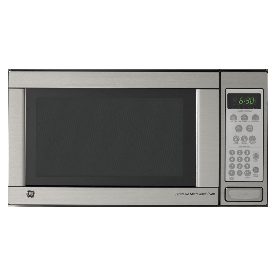 Ge 1 Cu Ft Countertop Microwave Color Stainless Steel