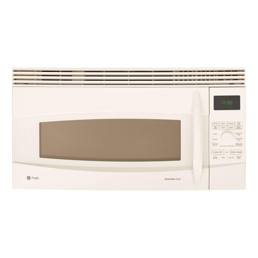 30 Inch Over The Range Microwave Convection Oven: GE Profile 30-Inch, 1.7 Cu. Ft. Convection Over-the-Range