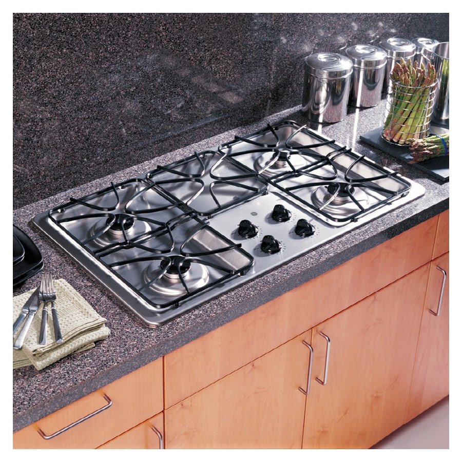 Lowes cooktops 36 inch - Ge 36 Inch Stainless Gas Cooktop