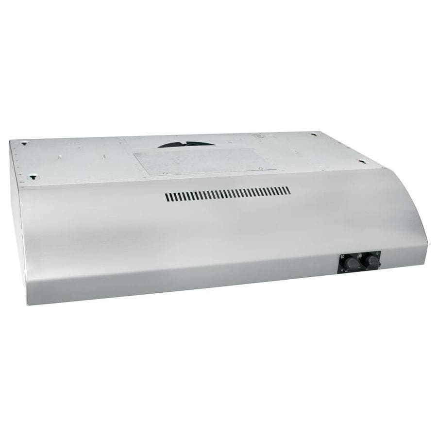GE Undercabinet Range Hood (Stainless) (Common: 30-in; Actual: 29.875-in)