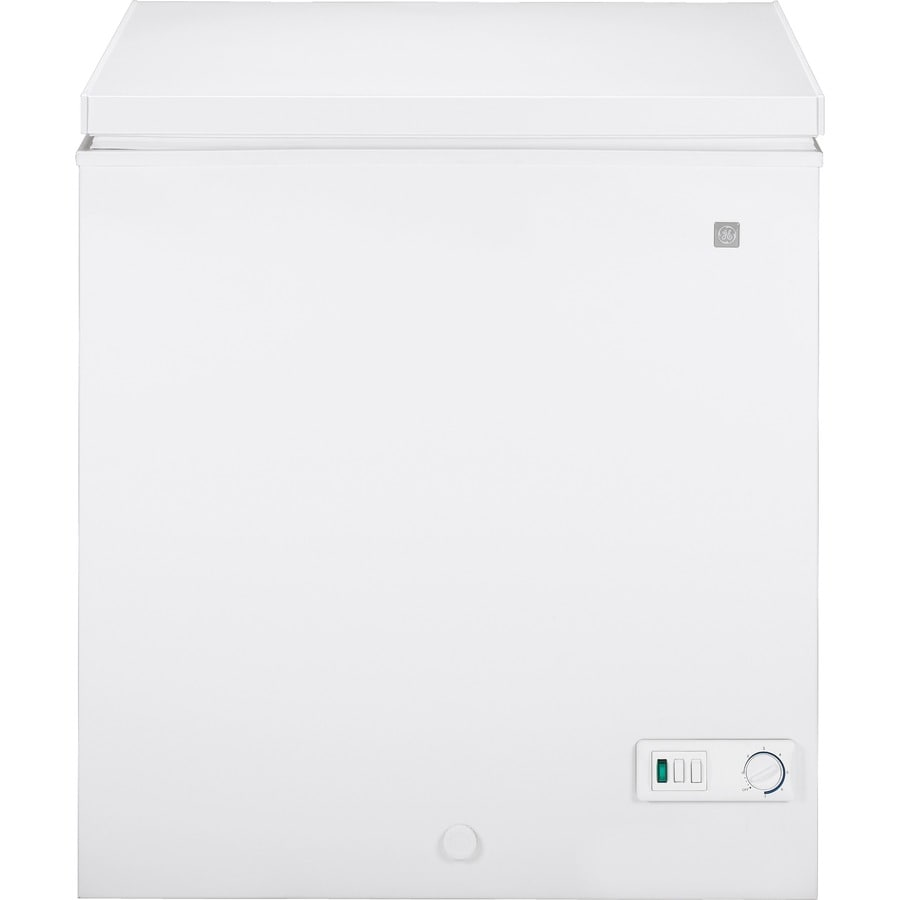 GE 5-cu ft Chest Freezer (White)