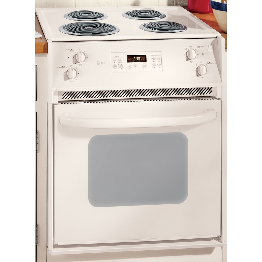 Ge Profile 27 Inch Drop In Electric Range Color Bisque