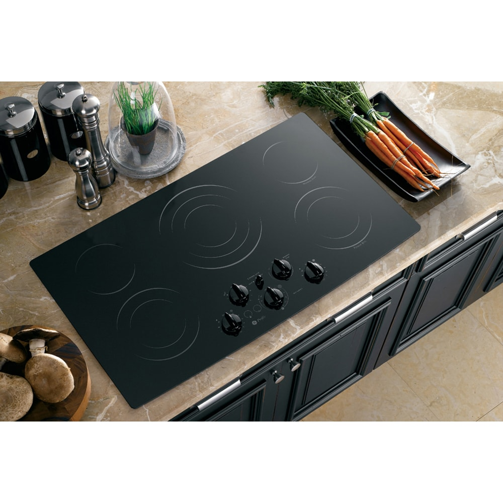 Lowes cooktops 36 inch - Ge Profile 36 Inch Built In Cleandesign Cooktop Color Black