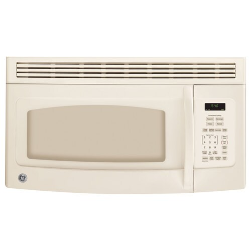 Ge 1 5 Cu Ft Over The Range Microwave
