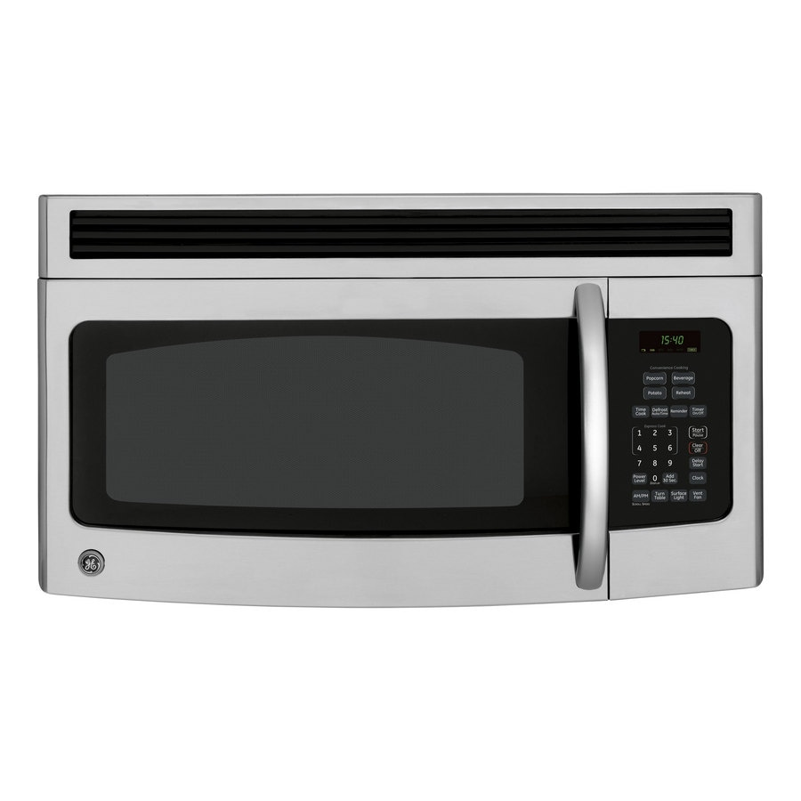 GE 1.5 Cu. Ft. Over-the-Range Microwave (Color: Stainless Steel/Black)