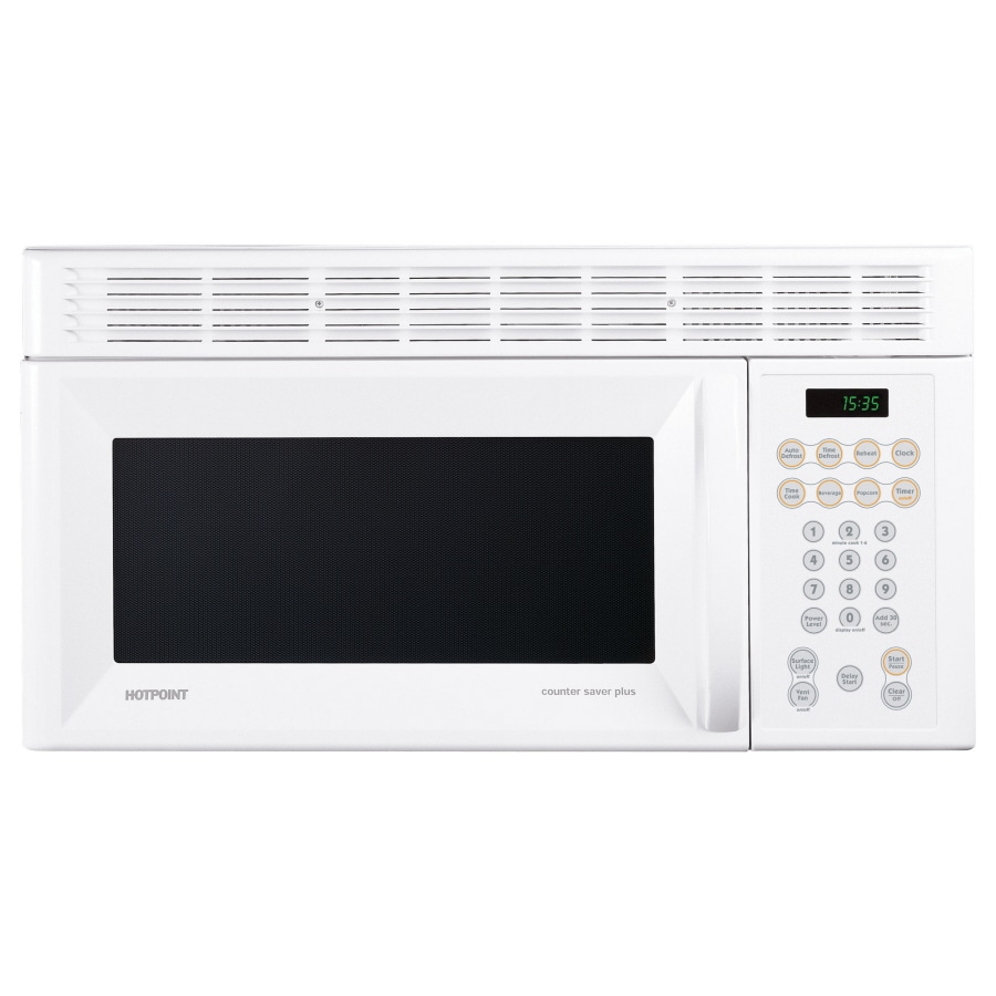 Hotpoint 30-in 1.5-cu ft Over-the-Range Microwave (White)