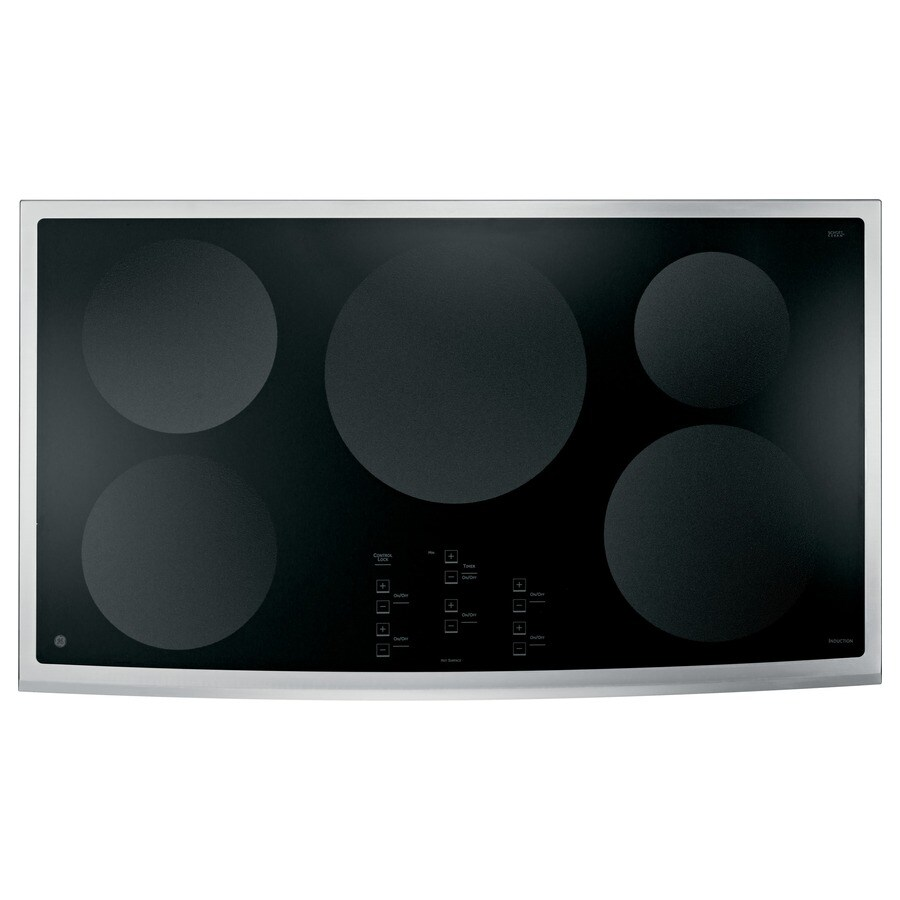 GE Profile 5-Element Smooth Surface Induction Electric Cooktop (Stainless Steel) (Common: 36-in; Actual 36.125-in)