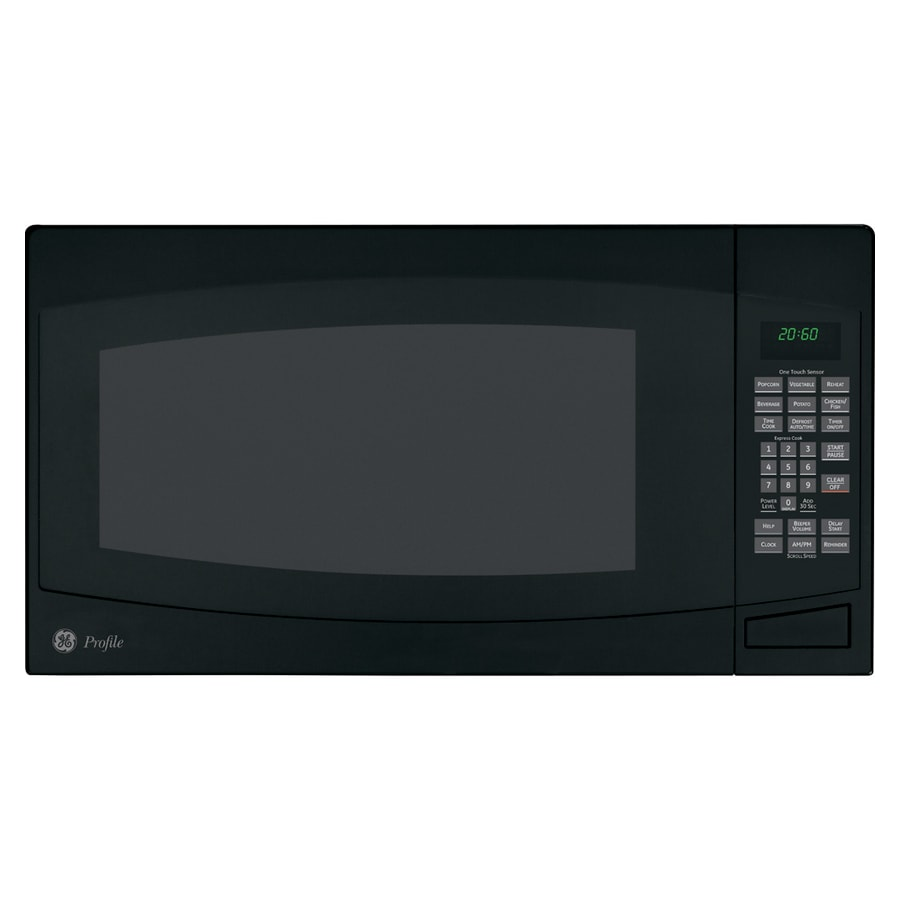 Ge Profile 2 Cu Ft Countertop Microwave Color Black At