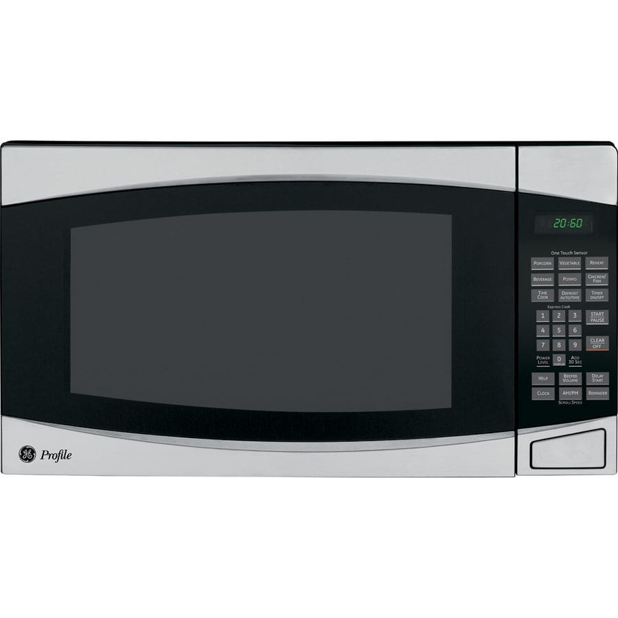 GE Profile 2-cu ft 1,200-Watt Countertop Microwave (Stainless)