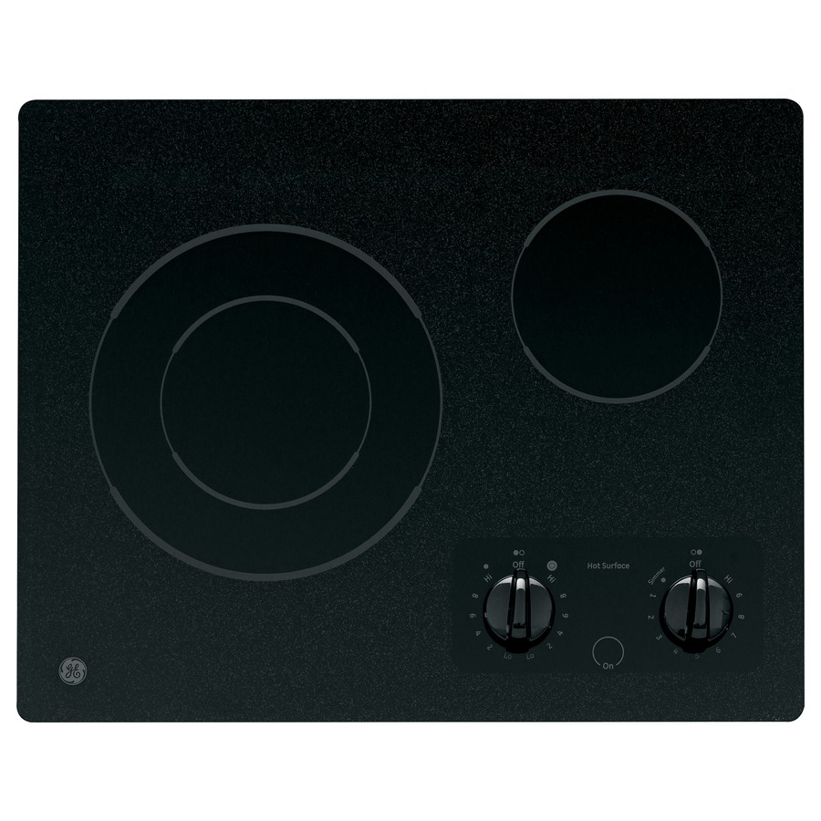 GE Smooth Surface Electric Cooktop (Black) (Common: 21-in; Actual 21.5-in)