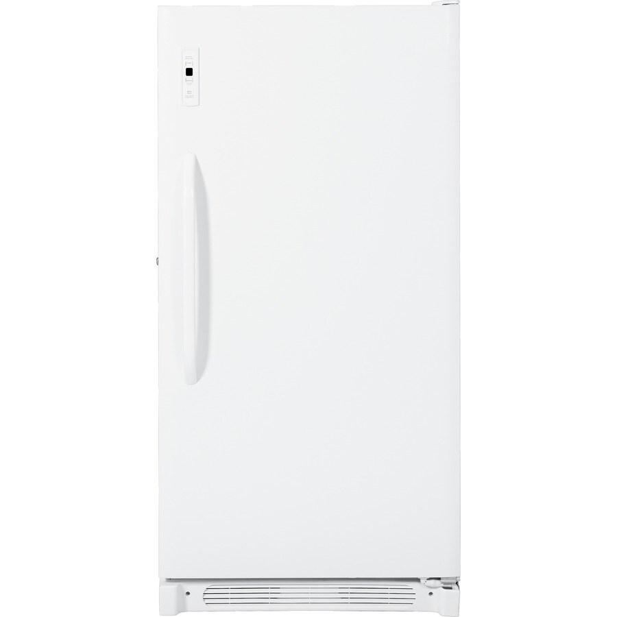 GE 16.7-cu ft Upright Freezer (White)