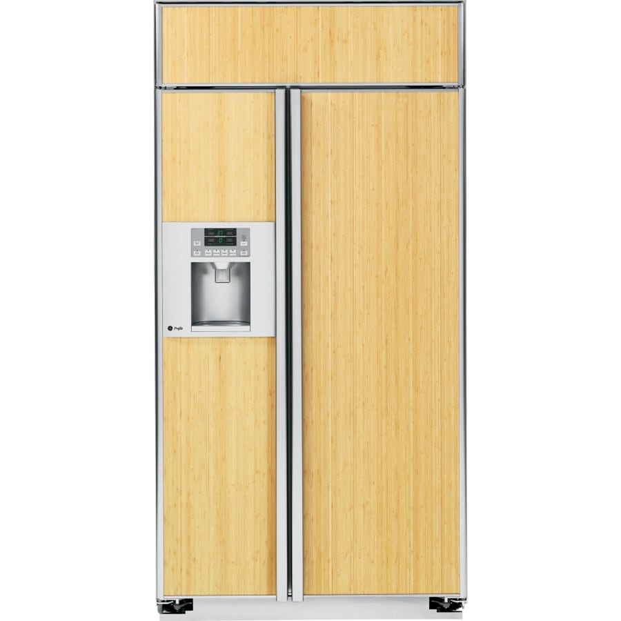 GE Profile 48-in Side-by-Side Built-In Refrigerator with Single Ice Maker (Custom Panel)