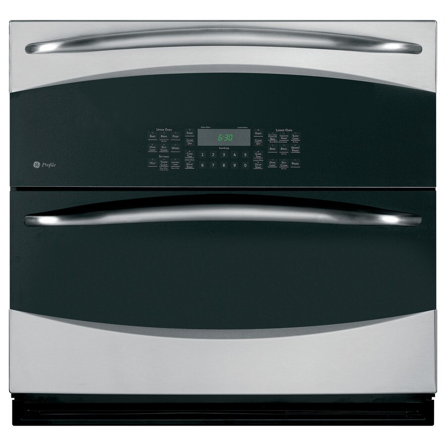 GE Profile Convection Single Electric Wall Oven (Stainless Steel) (Common: 30-in; Actual 29.75-in)