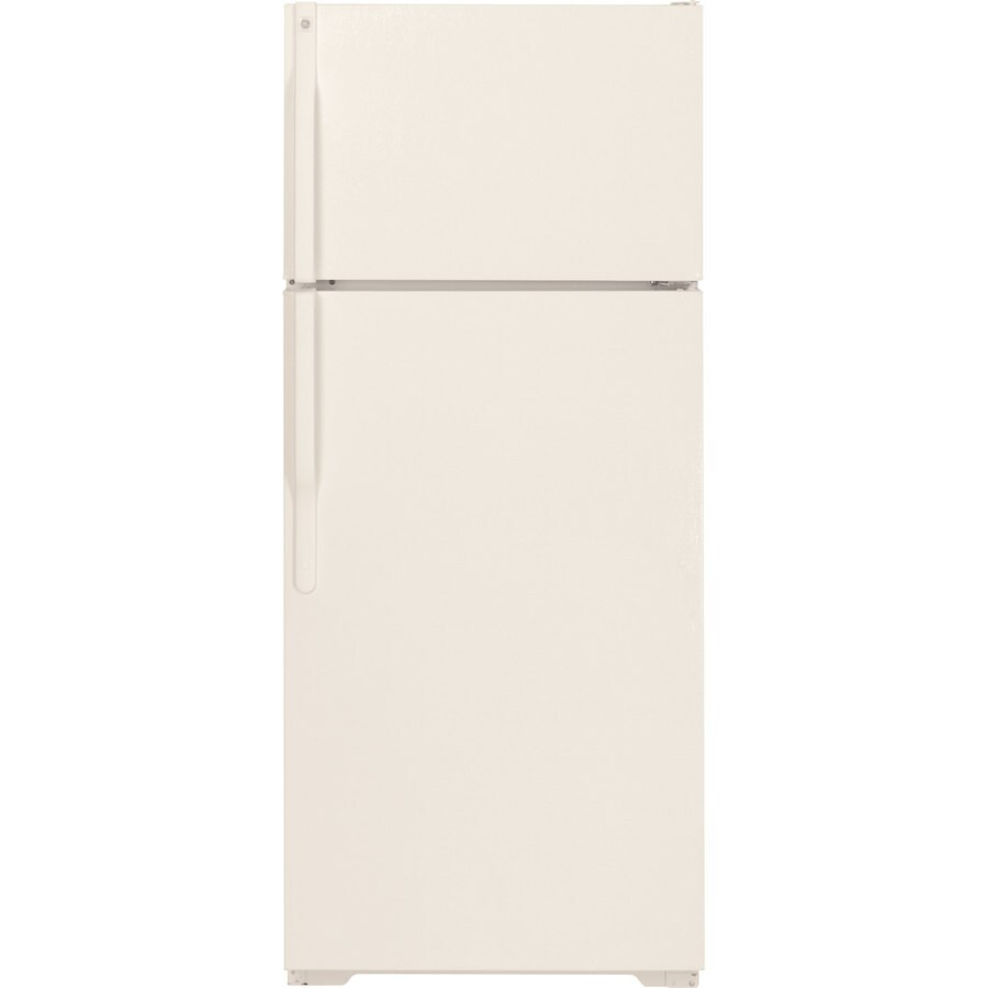 GE 15.5 cu ft Top-Freezer Refrigerator (Bisque) ENERGY STAR