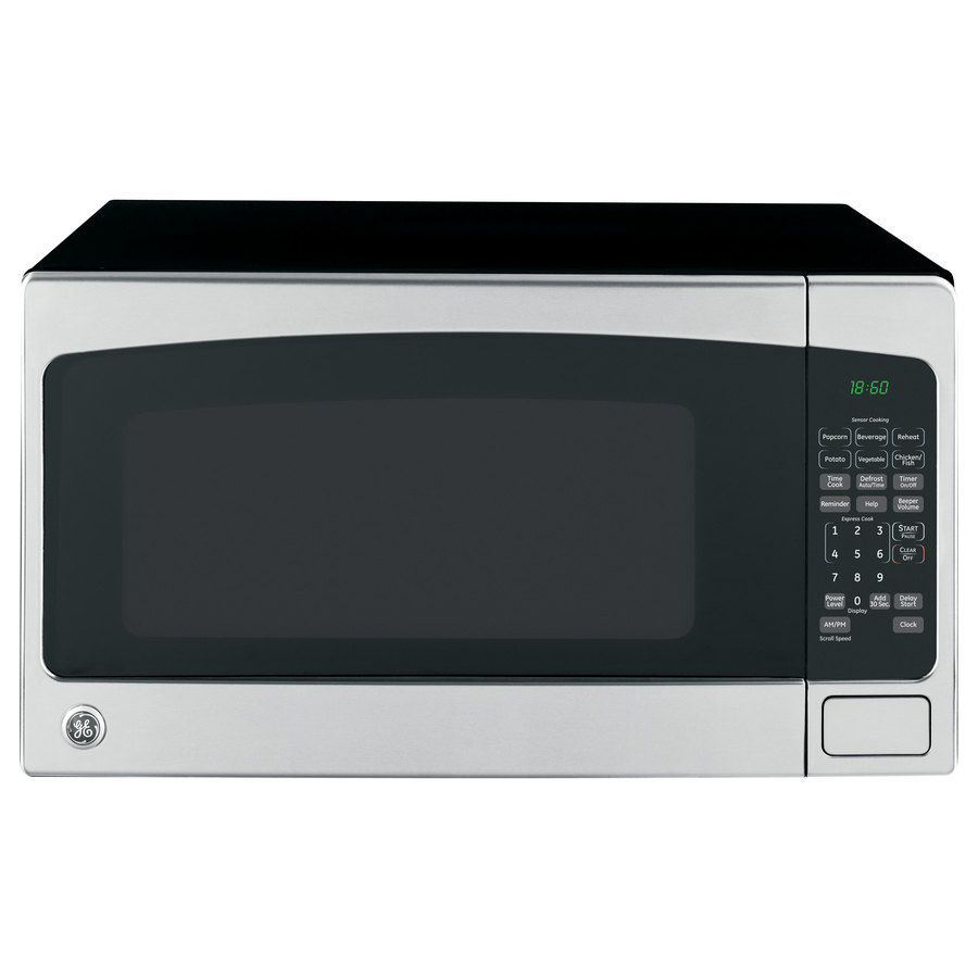 ... cu ft 1,200-Watt Countertop Microwave (Stainless Steel) at Lowes.com
