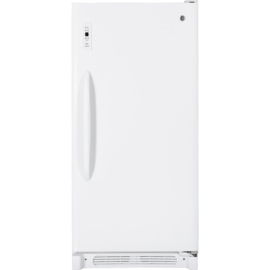 GE 13.7 cu ft Upright Freezer (White) ENERGY STAR