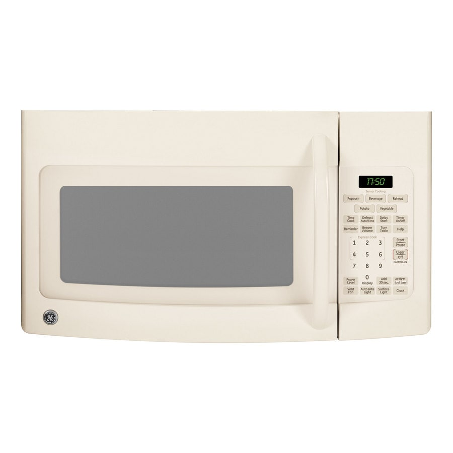 GE 1.7 cu ft Over-the-Range Microwave (Bisque)