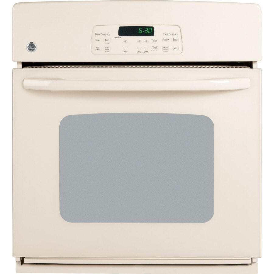 GE 27-in Single Electric Wall Oven (Bisque)