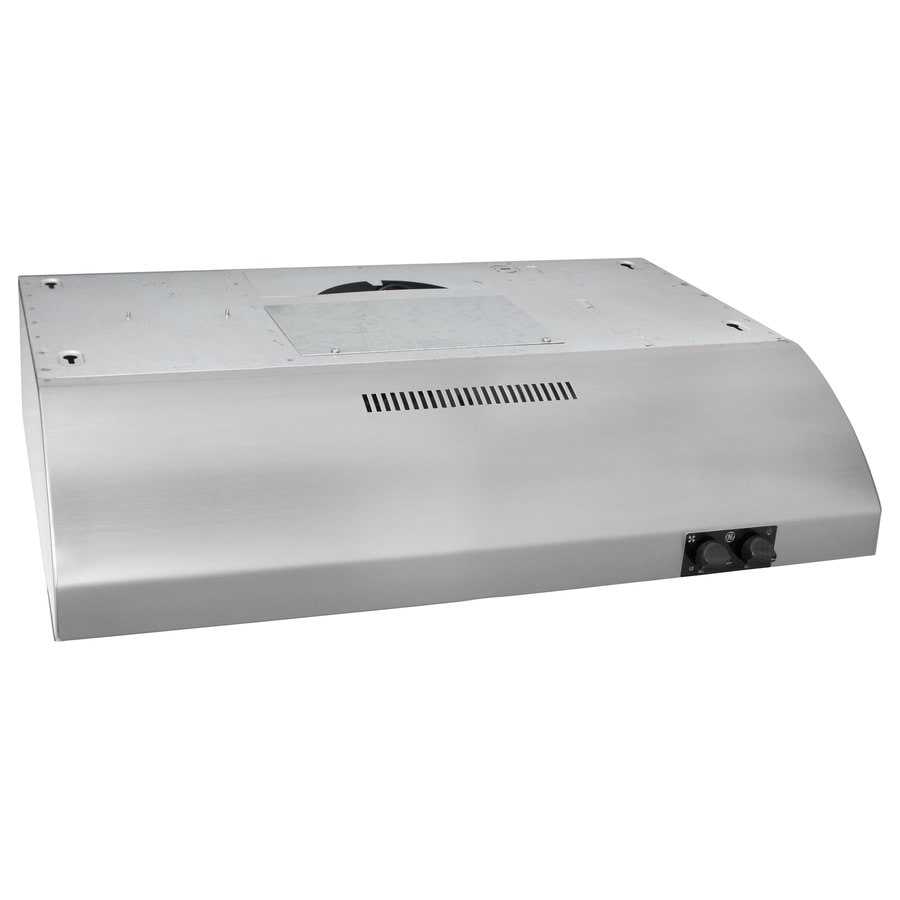 GE Undercabinet Range Hood (Stainless) (Common: 24-in; Actual: 23.875-in)