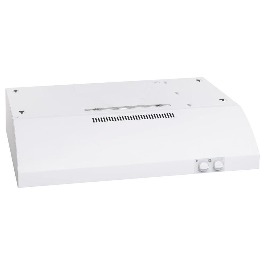 GE Undercabinet Range Hood (White) (Common: 24-in; Actual: 23.875-in)