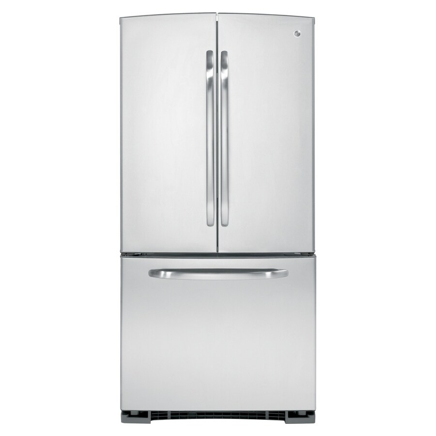 GE 22 cu ft French Door Refrigerator (Stainless Steel) ENERGY STAR