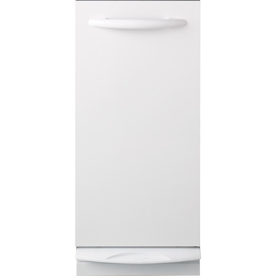 GE Profile Series 14.875-in White Undercounter Trash Compactor