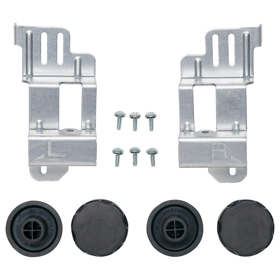 GE Washer/Dryer Stack Bracket Kit (Silver)