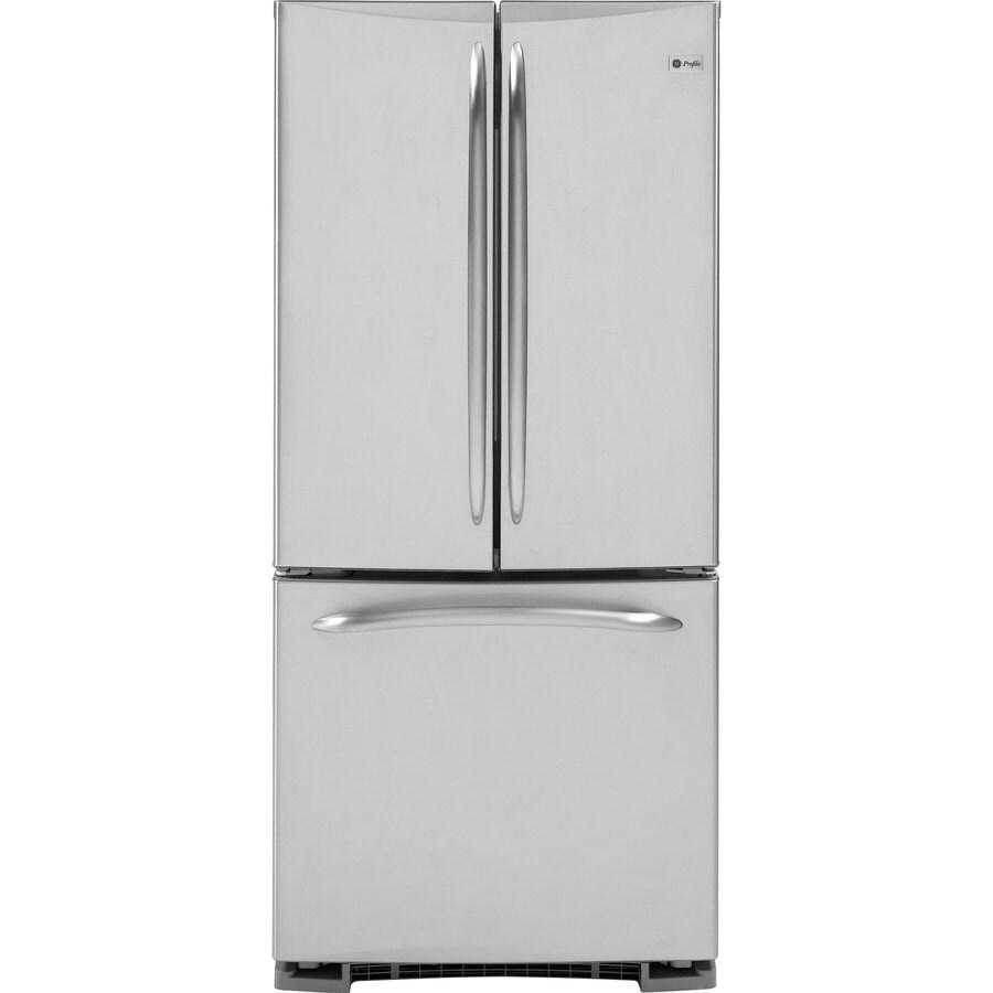 Shop ge profile 19 5 cu ft french door refrigerator for 19 5 cu ft french door refrigerator