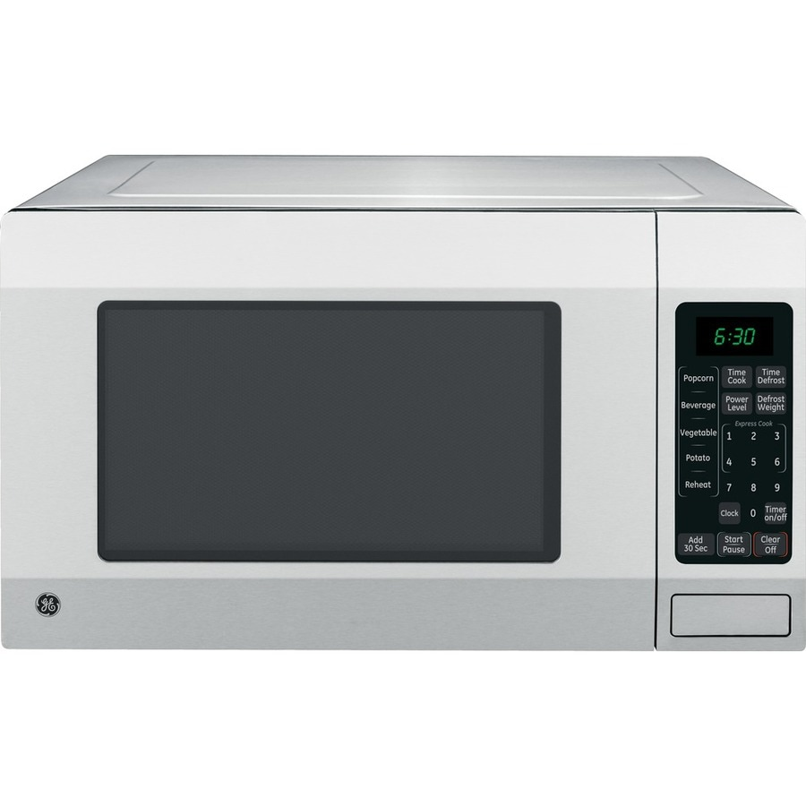 GE 1.6-cu ft 1150-Watt Countertop Microwave (Stainless Steel)