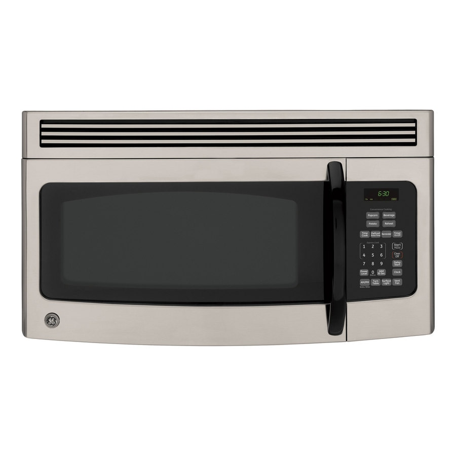 GE 1.5 cu ft Over-the-Range Microwave (Black)