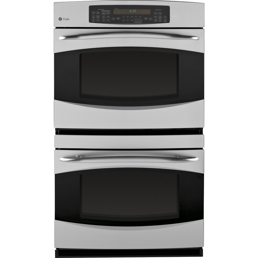 GE Profile 30-in Self-Cleaning Convection Double Electric Wall Oven (Stainless Steel)