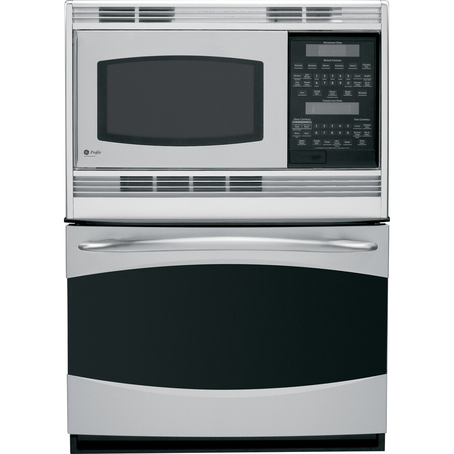GE Profile Self-Cleaning Microwave Wall Oven Combo (Stainless Steel) (Common: 30-in; Actual 29.75-in)