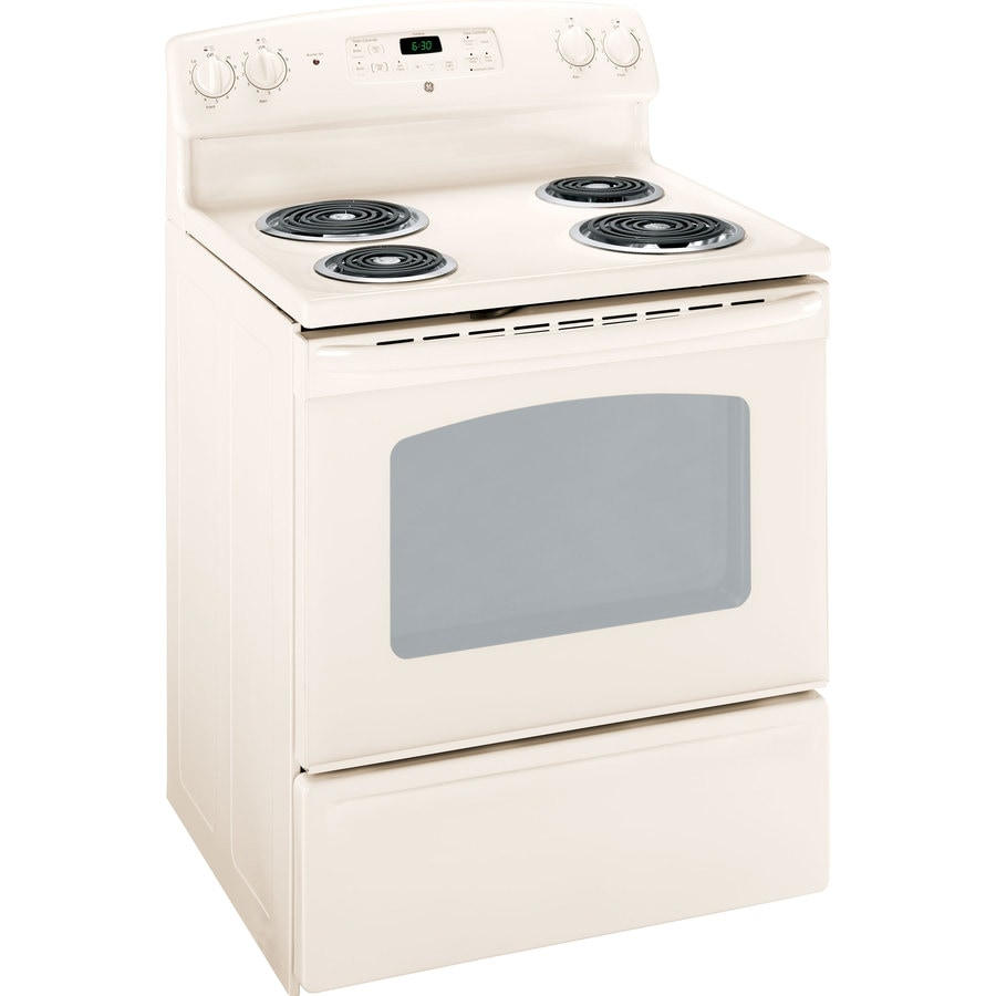 Electric Kitchen Stoves Lowes ~ Shop ge in freestanding cu ft self cleaning