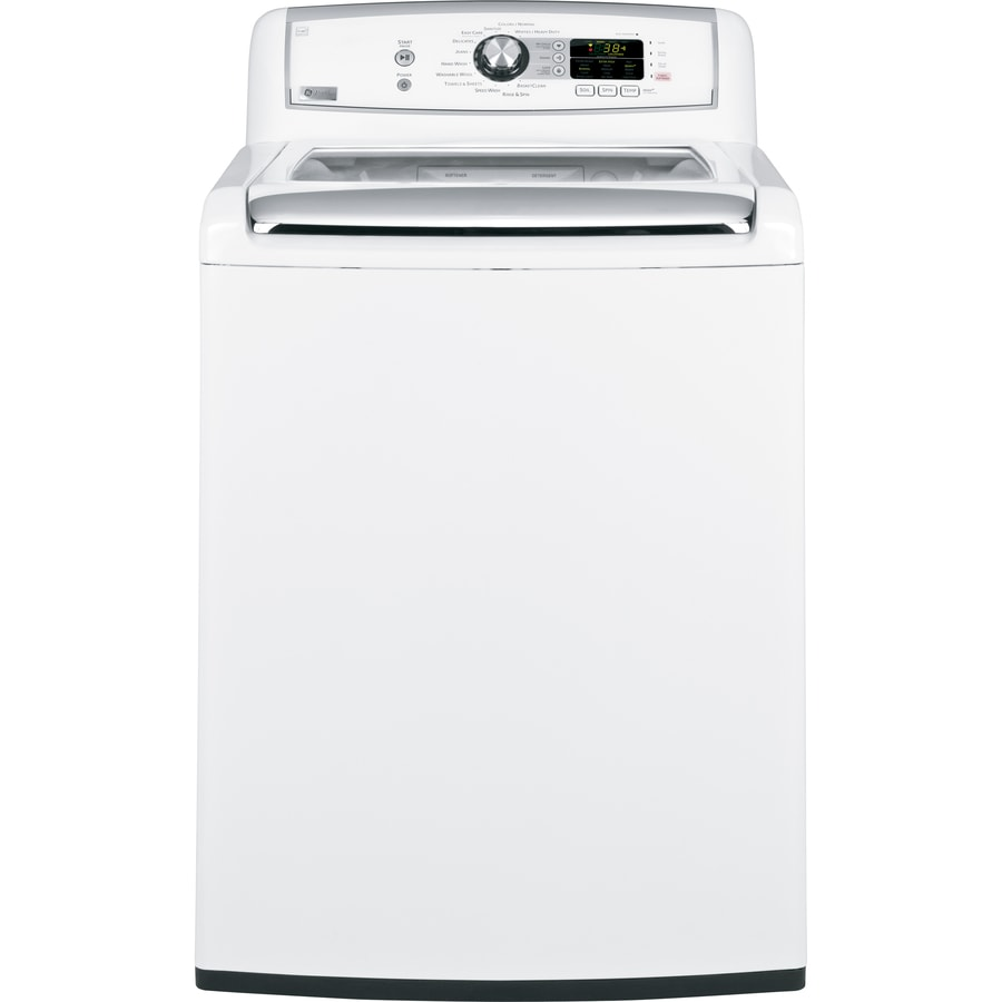 GE Profile 4.5-cu ft High-Efficiency Top-Load Washer (White)