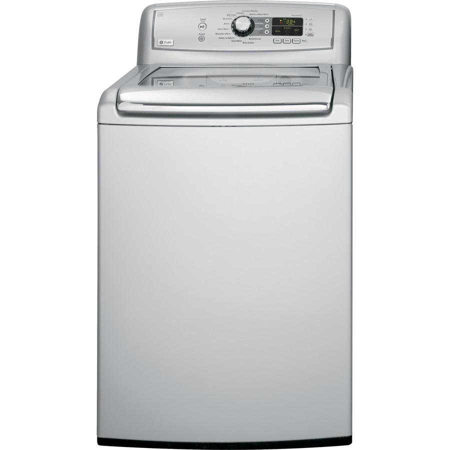 GE Profile 4.5 cu ft Top-Load Washer (Metallic Silver) ENERGY STAR