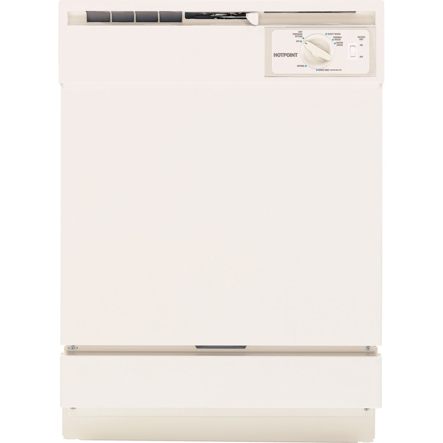 Shop Hotpoint 64-Decibel Built-in Dishwasher With Hard