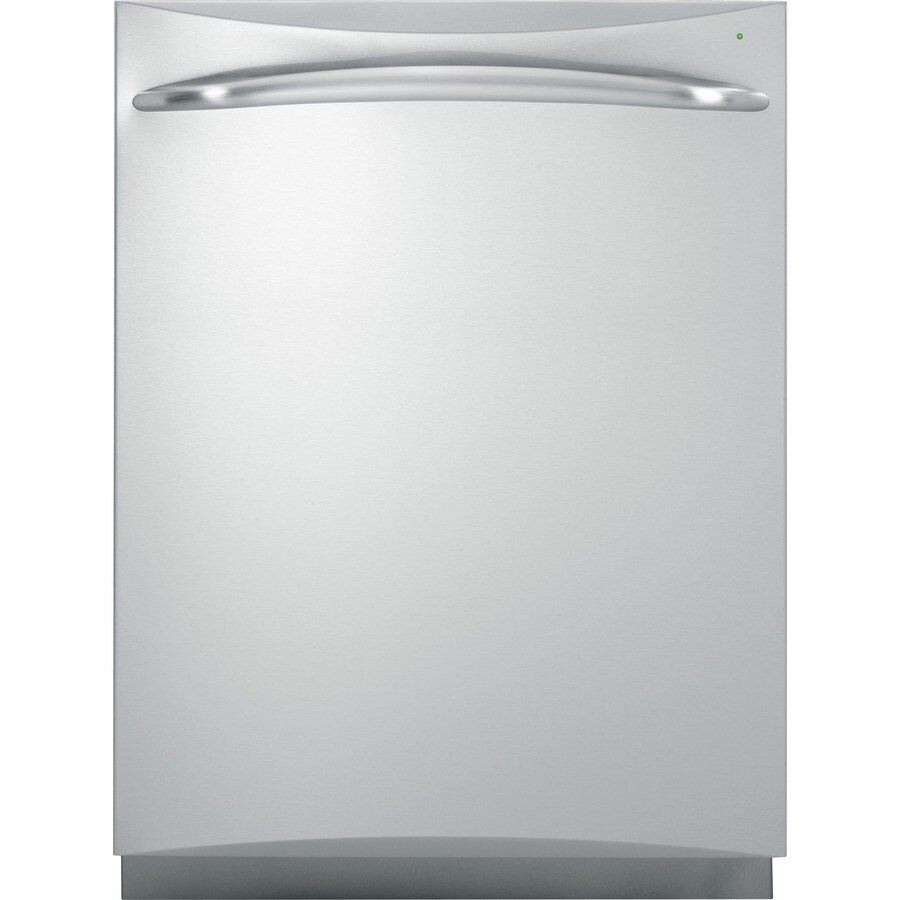 GE Profile 52-Decibel Built-In Dishwasher with Hard Food Disposer (Stainless Steel) (Common: 24-in; Actual: 24-in)