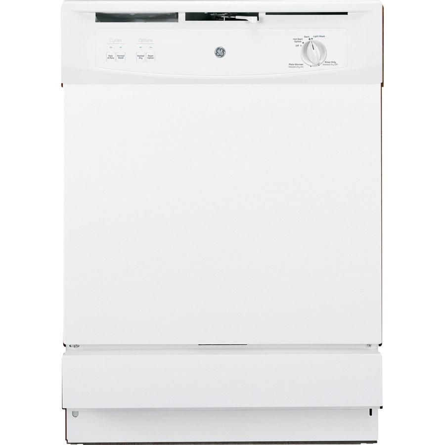 Shop Ge 24 In Black Dishwasher With Piranha Hard Food: Shop GE 64-Decibel Built-In Dishwasher With Hard Food
