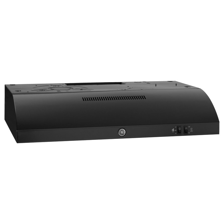 GE Undercabinet Range Hood (Black) (Common: 30-in; Actual: 29.875-in)