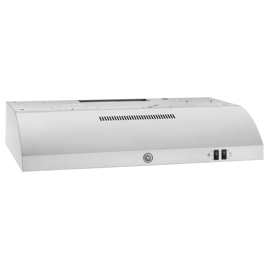 GE Undercabinet Range Hood (Stainless Steel) (Common: 30-in; Actual: 29.875-in)