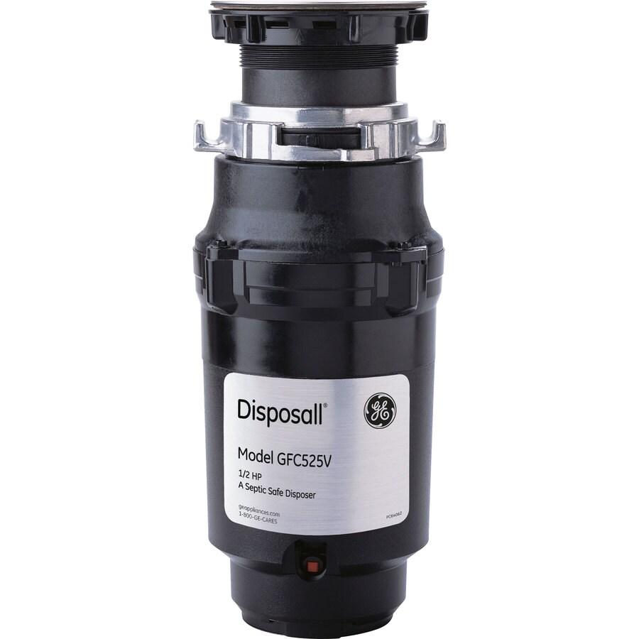 GE 1/2-Hp Noise Insulation Garbage Disposal