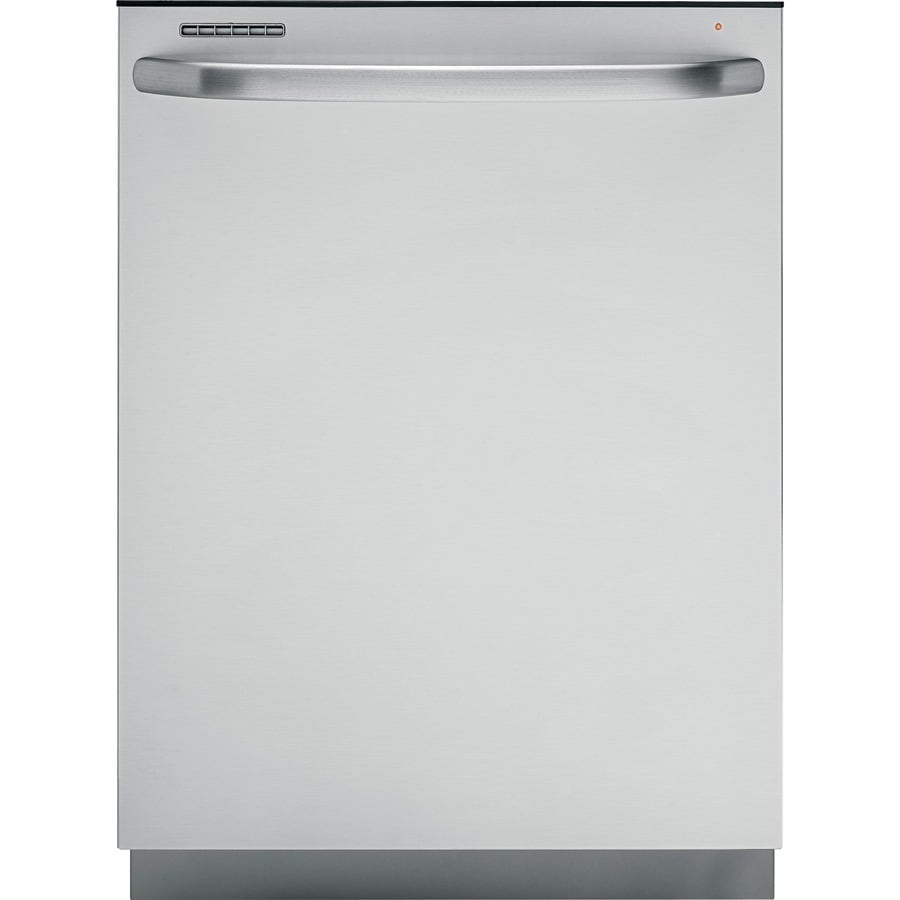 GE 24-in 52-Decibel Built-In Dishwasher with Hard Food Disposer and Stainless Steel Tub (Stainless Steel) ENERGY STAR