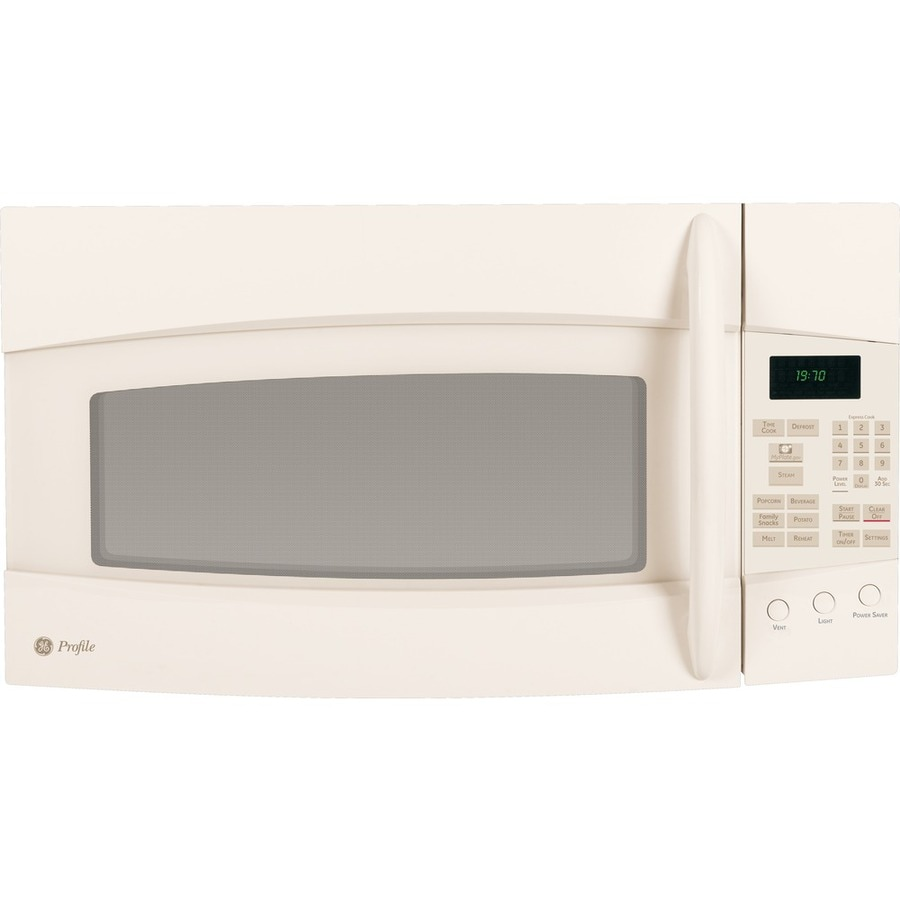 GE Profile 1.9 cu ft Over-the-Range Microwave (Bisque)
