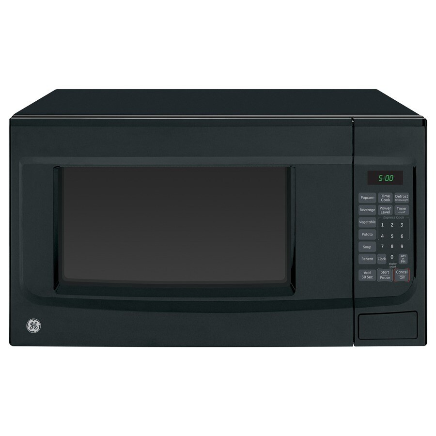 GE 1.4-cu ft 1,100-Watt Countertop Microwave (Black)