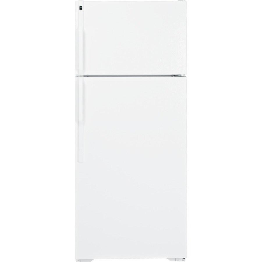 Hotpoint 18.1 cu ft Top-Freezer Refrigerator (White) ENERGY STAR