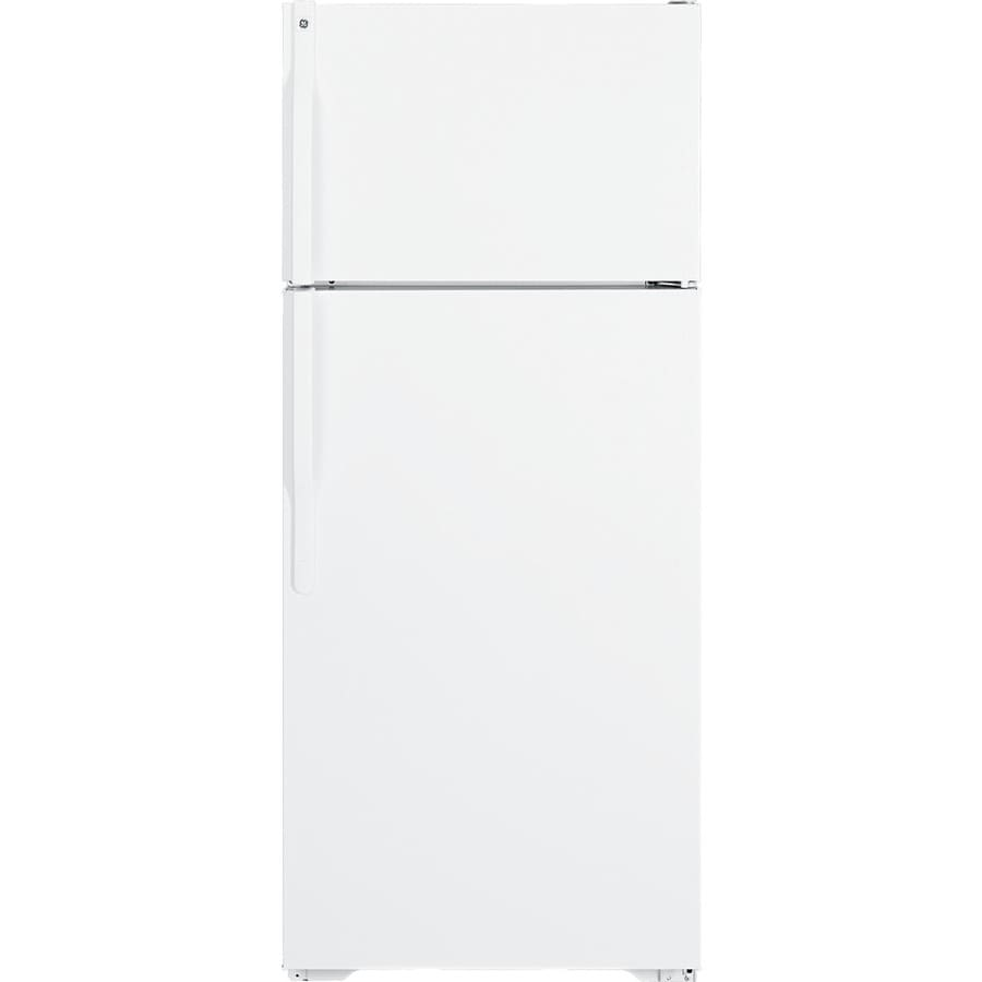 GE 18.1 cu ft Top-Freezer Refrigerator (White) ENERGY STAR