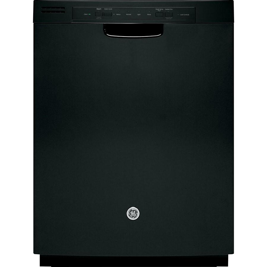 Frigidaire Ffbd2411 24 In 55 Decibel Built In Dishwasher: Shop GE 55-Decibel Built-In Dishwasher With Hard Food