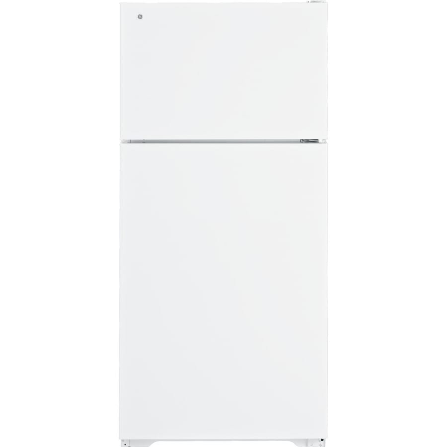 GE 15.5 cu ft Top-Freezer Refrigerator (White) ENERGY STAR