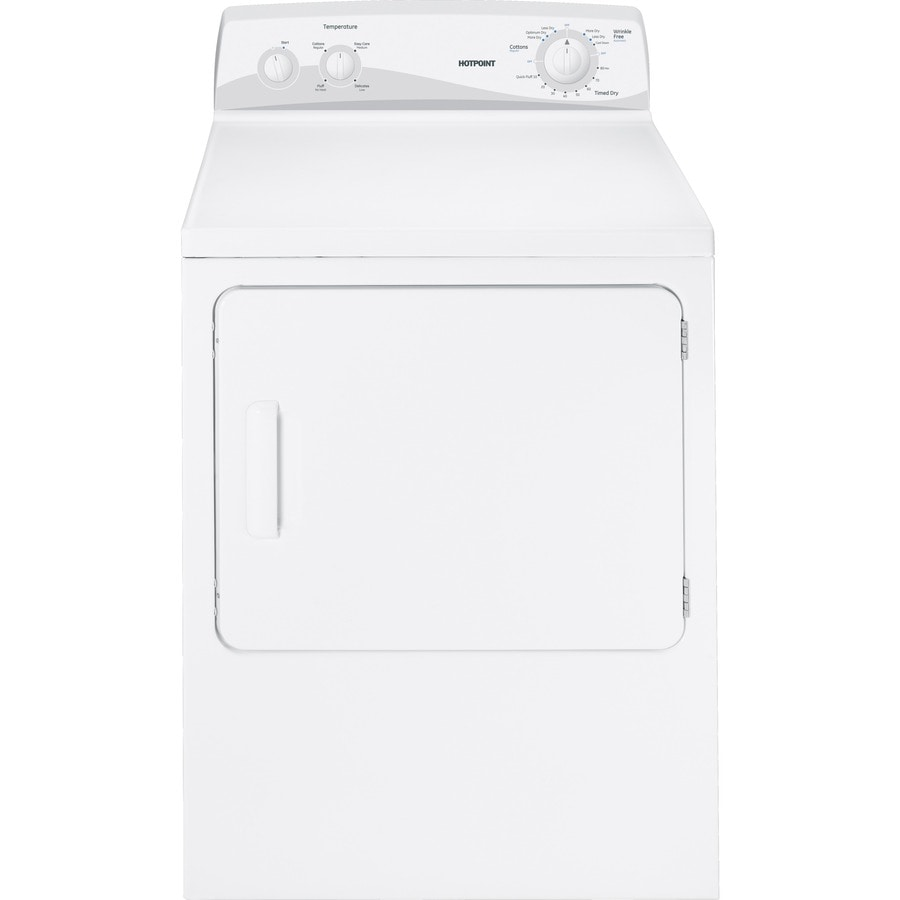 Hotpoint 6.8-cu ft Electric Dryer (White)